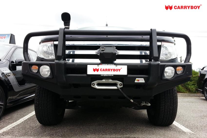 Ford-Bull Bar-Carryboy3  sc 1 st  CARRYBOY & BULL BAR-A FRAME u2013 CARRYBOY : Fiberglass Canopies Australia ...