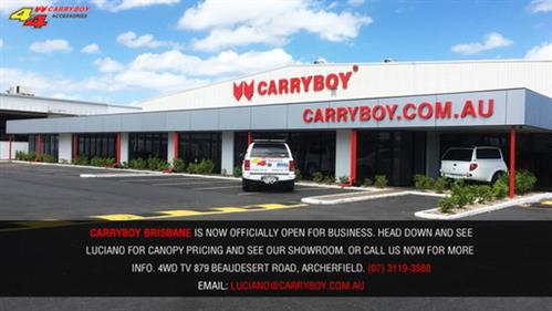 PROMOTION & CARRYBOY : Fiberglass Canopies Australia Canopies Australia Ute ...