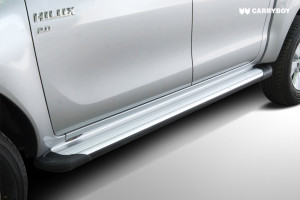 SIDE-STEP-TOYOTA-HILUX-REVO-2016-Aluminium-sidestep