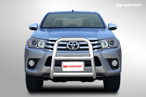 carryboy-toyota-hilux-revo-2016-A-BAR-FRONT-NUDGE-GUARD-stainless-steel